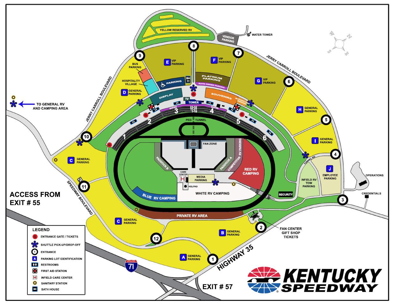 2010 Indycar Kentucky 300 Round 15