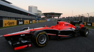 © Marussia F1 Team.