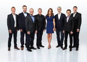 Simon Lazenby, Ted Kravitz, Johnny Herbert, Martin Brundle, Natalie Pinkham, Damon Hill, Anthony Davidson and David Croft will front Sky Sports' F1 coverage.