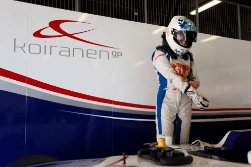 Jordá will drive for Koiranen in GP3 this year. © Andrew Ferraro/GP3 Series Media Service.