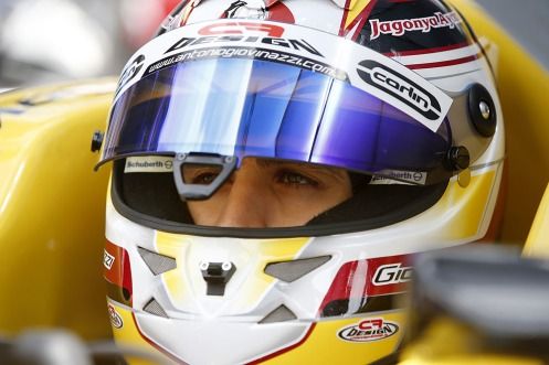 Giovinazzi scored his first FIA F3 podium in Hockenheim. © FIA.