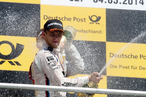 Wittmann took BMW's 60th DTM victory © BMW AG (05/2014)