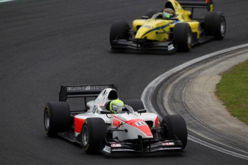 Sato proved decisive on track. © Auto GP World Series.