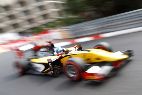 Palmer victorious in Monaco. © Sam Bloxham/GP2 Series Media Service.