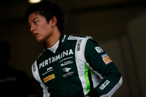 Haryanto will test at Silverstone. © GP2 Media Service.