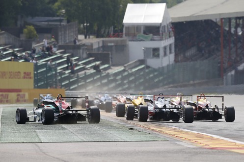 FIA Euro F3 fields have been solid this year. © FIA F3 Media Services.