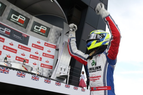 Eriksson triumphed on Saturday. © GP3 Series Media Services