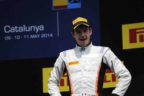Dillmann, meanwhile, scored a podium in Spain. © GP2 Series Media Services.