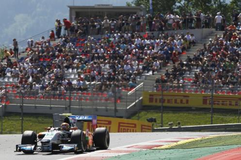 It has been a tricky year for Regalia and Hilmer. © GP2 Series Media Services.