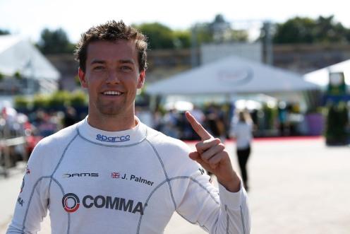 Palmer on pole. © Sam Bloxham/GP2 Series Media Service.