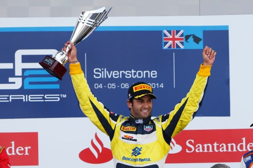 Nasr won on Sunday, but lost out again on Saturday. © GP2 Series Media Services.
