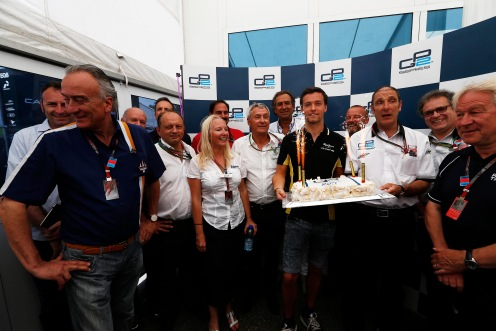 200 races and a cake to celebrate. © Sam Bloxham/GP2 Series Media Service.