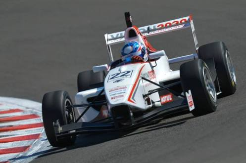 Andrew Tang won the Toyota Racing Series in 2014. © Toyota Racing Series / Bruce Jenkins.