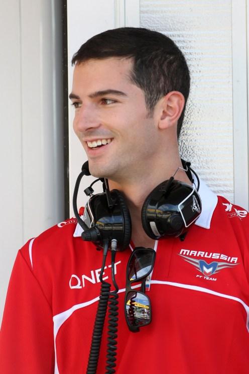 Rossi will race in Belgium. © Marussia F1 Team