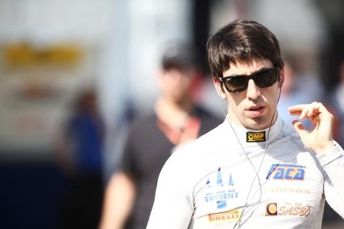 The controversial Sergio Canamasas. © Sam Bloxham/GP2 Series Media Service.