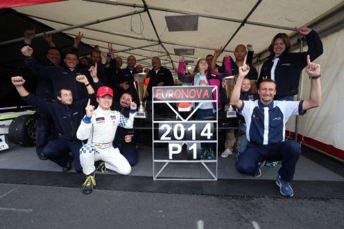 Kimiya Sato took teh Auto GP title in August. © Auto GP Organization.