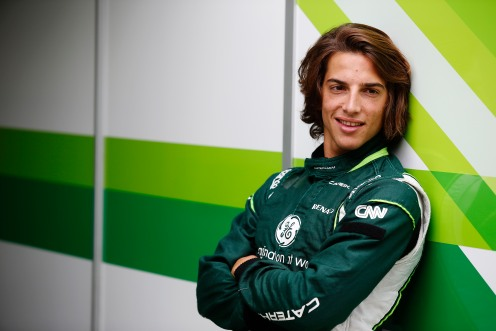 The Spaniard also tested three times with Caterham F1. © Caterham F1 Team.