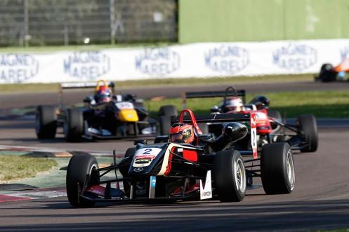 Ocon is the 2014 FIA F3 champion. © FIA F3 Media.