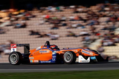 Lucas Auer won in Hockenheim. © FIA F3 Media Service.