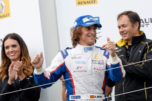 Merhi was a FR3.5 race winner in 2014. © Renault Sport Media.