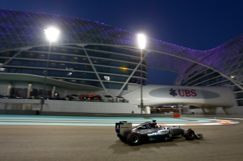 ...while Hamilton topped the Friday sessions. © Mercedes AMG Formula 1 Team.