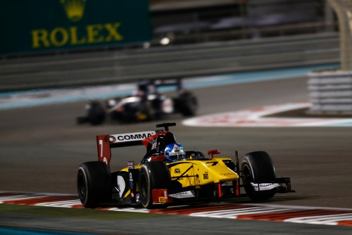 Palmer was this year's GP2 Series champion. © Sam Bloxham/GP2 Series Media Service.