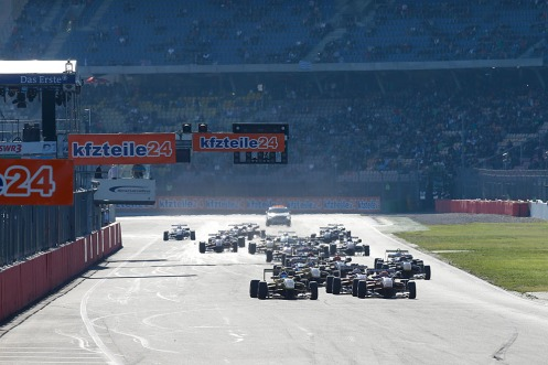 Hockenheim plays a vital part of the F3 season. © FIA F3 Media Services.