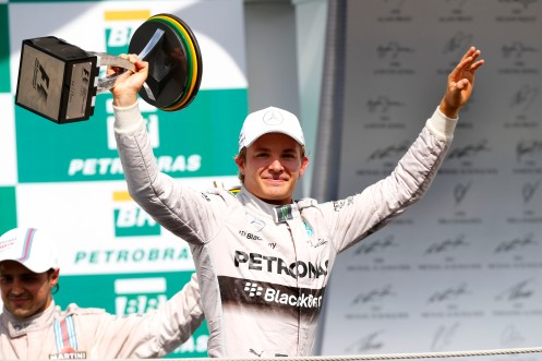 Rosberg pushed hard for the F1 title. © MERCEDES AMG PETRONAS Formula One Team.