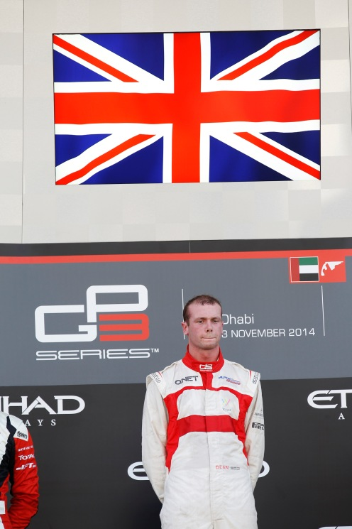 Stoneman finished runner-up to Alex Lynn in GP3. © Sam Bloxham/GP3 Series Media Service.