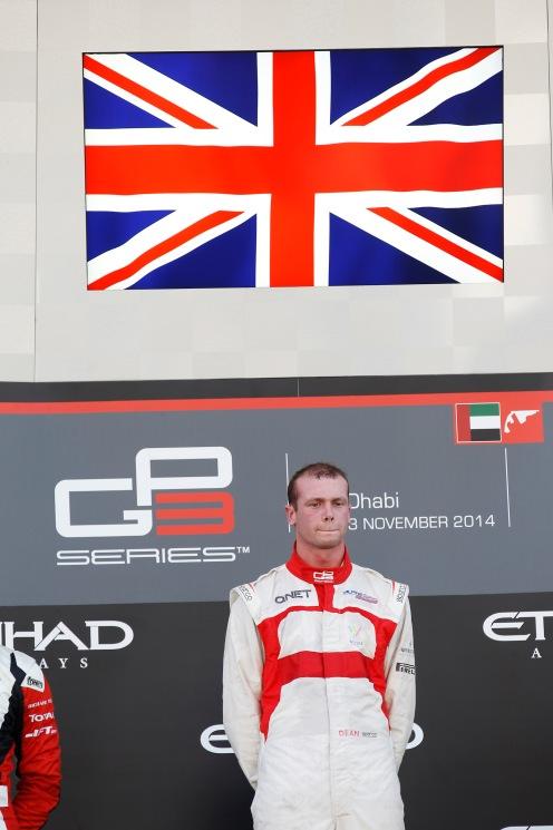 Stoneman finished runner-up to Alex Lynn in GP3. © Sam Bloxham/GP3 Series Media Service.