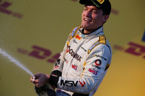 Palmer was GP2 champion a round as early as Sochi. © Charles Coates/GP2 Series Media Service.