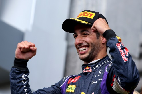 Ricciardo took three Grand Prix in 2014. © Red Bull Media House.