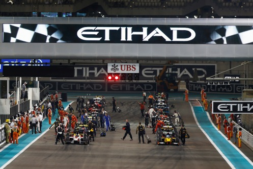 GP2 testing begins in Abu Dhabi in March, with the season concluding there too. © Sam Bloxham/GP2 Series Media Service.
