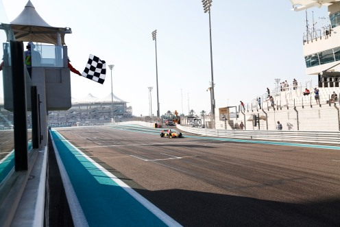 GP2 will end in Abu Dhabi next November. © Sam Bloxham/GP2 Series Media Service.