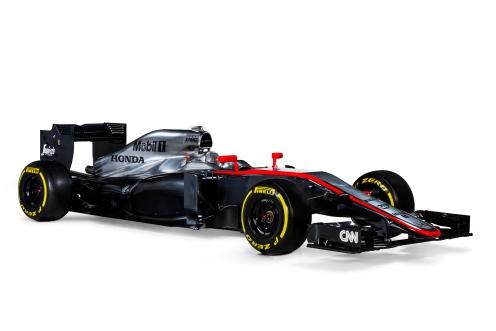 McLaren MP4-30. © McLaren Honda Formula 1 team