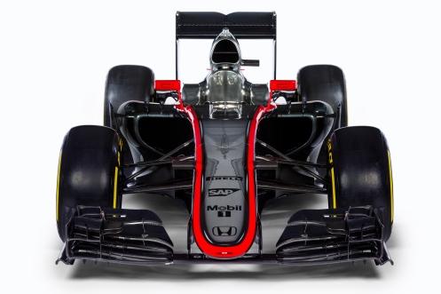 McLaren MP4-30. © McLaren-Honda Formula 1 team.