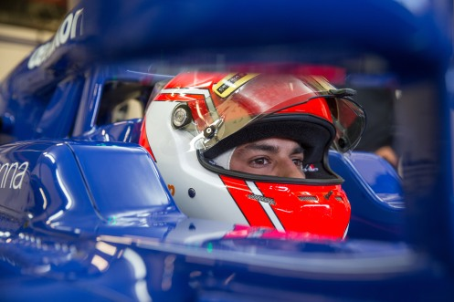 Nasr has two Barcelona tests to go. ©Sauber F1 Team.