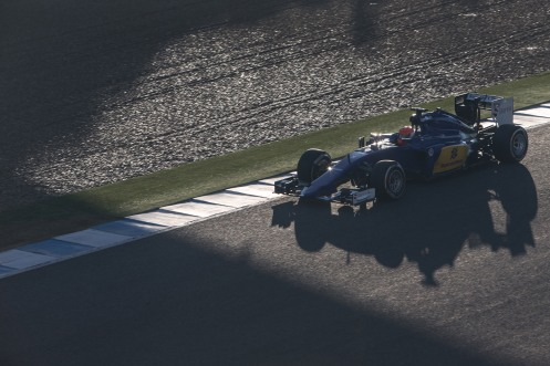 Nasr enjoyed a good opening test. ©Sauber F1 Team.