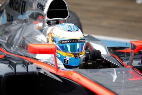 Alonso may not run at the final pre-season F1 test. © McLaren-Honda F1 Team / Steven Tee / LAT Photographic