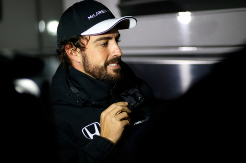 Alonso will not be racing in Australia. © McLaren-Honda F1 team / Sam Bloxham/LAT Photographic.