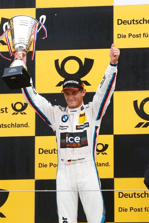 Photo: 'Wittmann will be the defending DTM champion in 2015. © ITR / DTM Media Services.