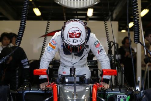 """...whereas Magnussen didn't even start!"" © McLaren-Honda Formula 1 Team."
