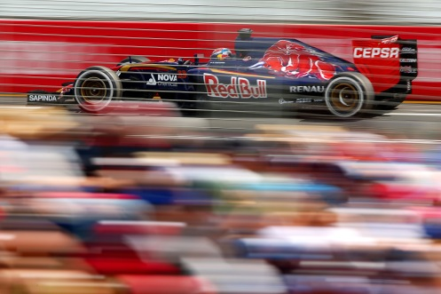 """""""Verstappen impressed as the youngest debutante."""" © Getty Images/Red Bull Content Pool"""
