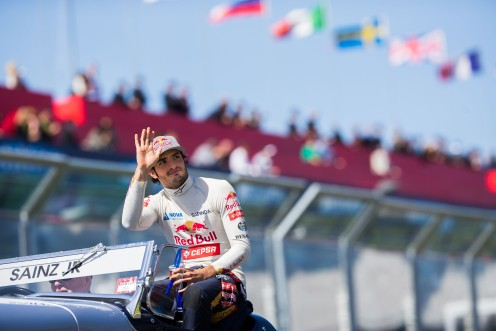 """Sainz made a confident, if understated start."" © Getty Images/Red Bull Content Pool"