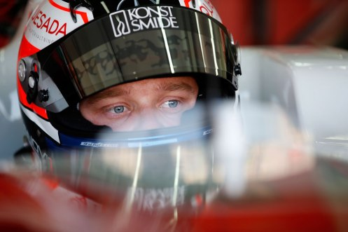 Rosenqvist took pole for Silverstone race 1. © FIA F3 Media Services.