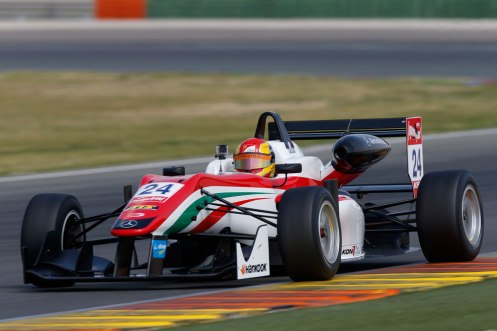 Maïsano was quickest in practice at Silverstone. © FIA F3 Media.