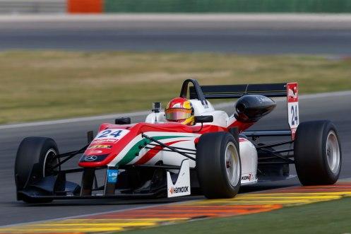 Maïsano was quickest in practice at Silverstone. © FIA F3 Media.