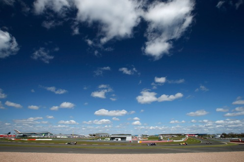 Conditions at SIlverstone for much of the weekend were excellent. © FIA F3 Media Services.