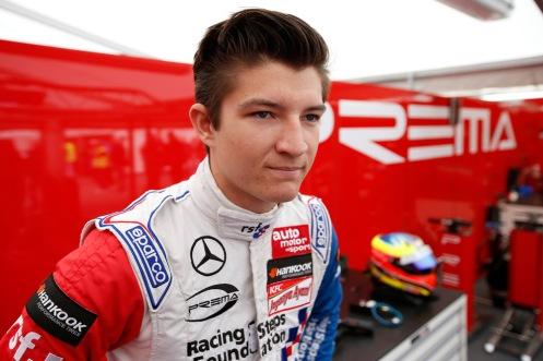 2 Jake Dennis (GBR, Prema Powerteam, Dallara F312 – Mercedes-Benz), FIA Formula 3 European Championship, round 2, race 2, Hockenheim (GER) - 30. April - 3. May 2015
