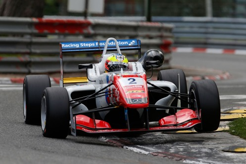 2 Jake Dennis (GBR, Prema Powerteam, Dallara F312 – Mercedes-Benz), FIA Formula 3 European Championship, round 3, Pau (FRA) - 15. - 17. May 2015